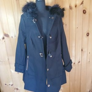 Womans city chic trench coat size small
